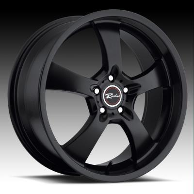 137 Maxim 5 Black Tires